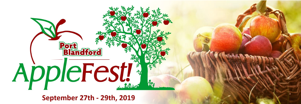 September 27 to 29, 2019 - Apple Festival
